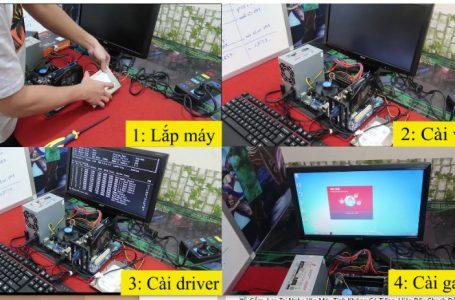 Build và lắp bộ máy tính giá rẻ chơi LOL CF FIFA4 GTA V
