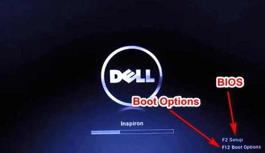 phím tắt vào laptop máy dell