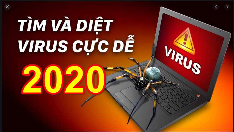 Cách cài phần mềm diệt virus nhanh miễn phí cho laptop & pc