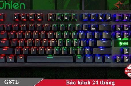 Review mua thử bàn phím cơ Fuhlen G87L giá 450K trên mạng