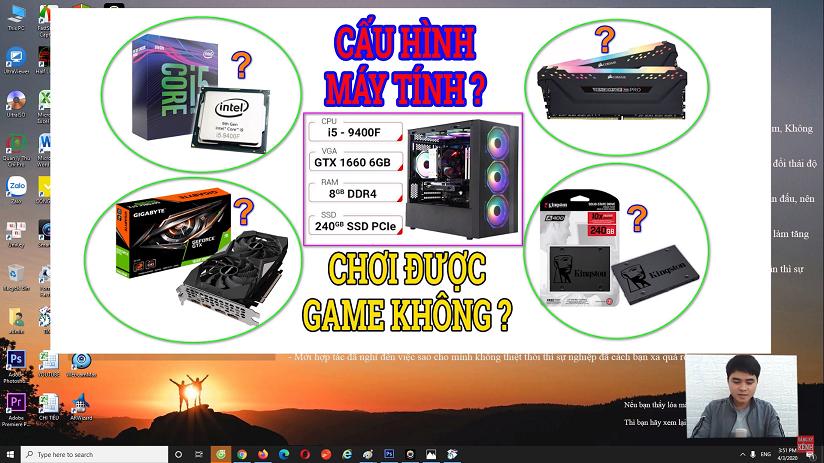 Hướng dẫn cách kiểm tra và đọc cấu hình máy tính laptop & pc