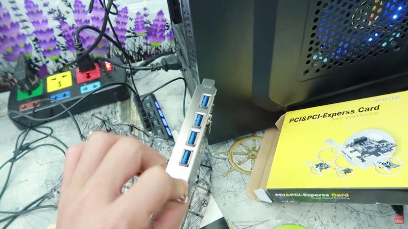 Máy tính ít cổng usb lỗi công usb và cách khắc phục thêm cổng usb
