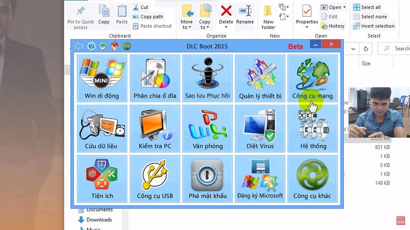 Hướng dẫn cách tạo usb DLC kiểm tra sửa cứu hộ máy tính đa năng