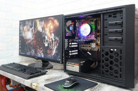 Build và Test Game Thử CấuHình Bộ Máy Tính 3800k bán trên shopee