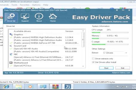 Link Tải Driver Win 7 và Hướng Dẫn Cài Driver Win 7 32bit & 64bit