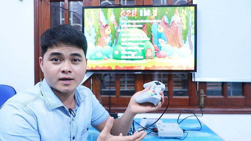 Mua Thử Bộ Máy Chơi Game 488k trên shopee