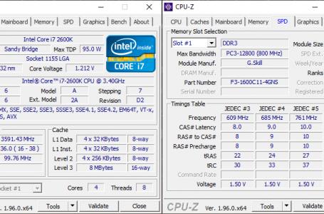Kiểm Tra Cấu Hình Máy Tính Laptop PC Chi Tiết Đầy Đủ Bằng CPUZ