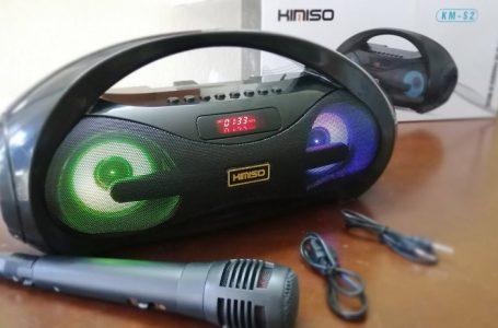 Mua Thử 270K Loa Karaoke KIMISO KM-S2 Bluetooth Đa Năng