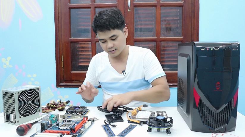 Build và Lắp Ráp Máy Tính E31220V3 và I5 2400 Giá 3550K Test Hiệu Suất Game