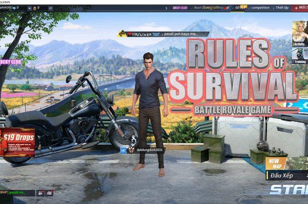 Hướng dẫn tải game Rules Of Survival