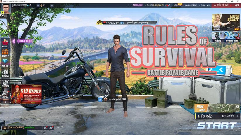 Hướng Dẫn Link Tải Và Cài Game Rules Of Survival 2021 Mới Nhất Miễn Phí