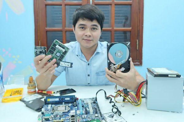 Kiểm tra ổ cứng pc laptop