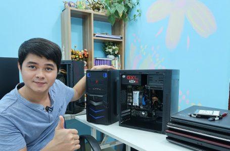 Hướng dẫn lắp máy tính học tập và chơi game main H81 và AMD a58